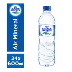 001059 - Aqua Botol 24x600ML